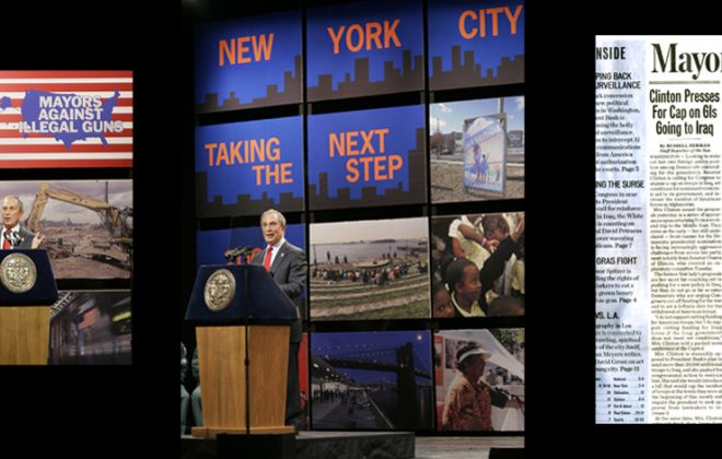 Designed stage graphics for State of the City Address - resulted in increased press coverage
