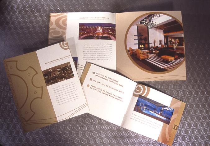 Lead creative on Benchmark Hospitality account | 2001 - 2002