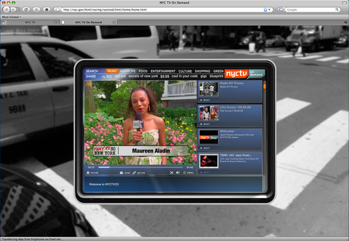 Video On Demand Site