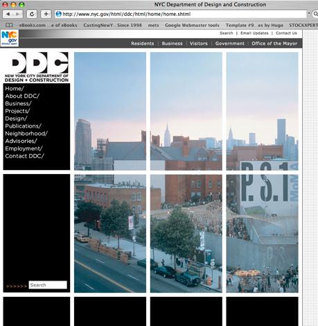 Design & management of city agency website using multiple technologies